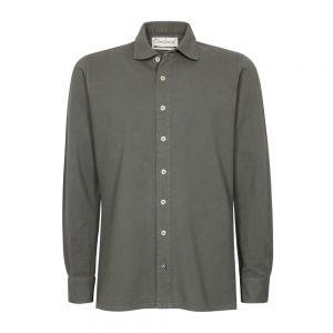 camicia piquet verde