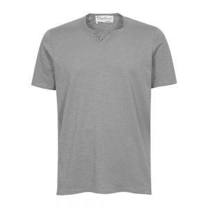 t-shirt serafino grigia