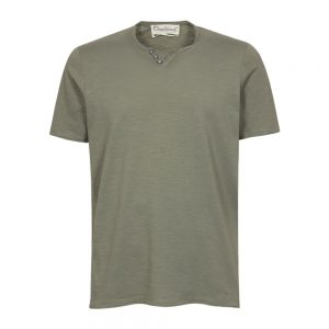 t-shirt serafino verde