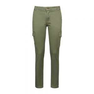 Pantalone cargo donna verde Overland®