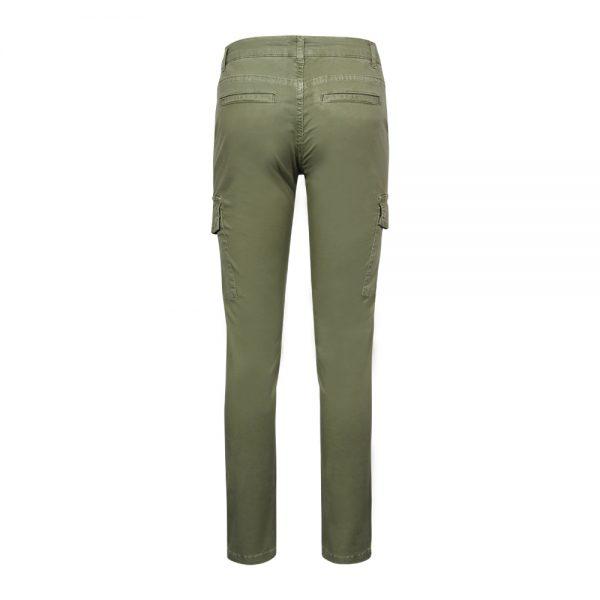 Pantalone cargo donna verde Overland® retro