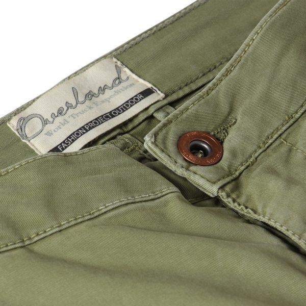Pantalone cargo donna verde Overland® label